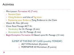 romeo juliet act ii formative assessment act iii i ppt 3 sumbit
