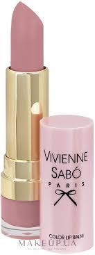 Vivienne Sabo Baume A Levres <b>Color Lip</b> Balm - <b>Помада</b>-<b>бальзам</b> ...