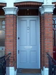 4 panel victorian front door with banham locks