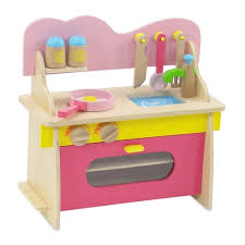 18 inch Doll Furniture Multicolored Wooden Kitchen Set with