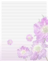 Lined Stationery Paper Pretty Printable Lined Stationary Paper Stationery Pinterest 15