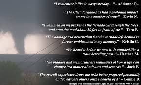 Weather Quotes Awesome Accounts From The Utica IL Tornado Event