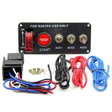 online get cheap 12v switch panels aliexpress com alibaba group b86 high quality racing car 12v ignition switch panel engine start push button led toggle