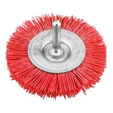 <b>Щетка для дрели</b> плоская нейлон 100 мм грубая <b>Kwb</b> купить ...
