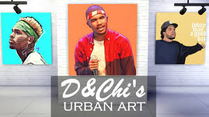 reactions  on urban wall art sims 4 with my sims 4 blog urban art by dandchi