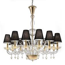 fascinating colored glass chandelier gypsy chandeliers black lamp cover design like unbrella dn crystal
