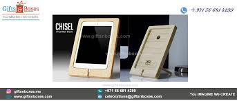 desk gifts for doctors eco friendly wooden chisel ipad mini stand for desk with personalized names custom gift bo supplier dubai abu dhabi uae sharjah