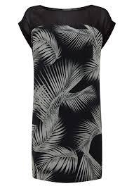 Kiya Print Tunic Dress