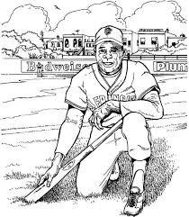 Small Picture 20 best Baseball coloring pages images on Pinterest Colouring