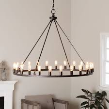 hemsworth oil rubbed bronze 24 light chandelier