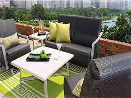 outdoor furniture for small spaces. patio small porch furniture apartment balcony white table with black chair green lime outdoor for spaces n