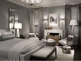 Gorgeous gray bedroom.