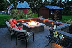 outdoor patio with fire pit small outdoor patio with fire pit design ideas and plans gas outdoor patio with fire pit
