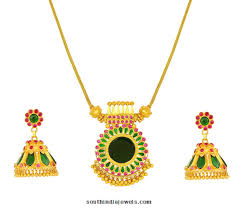 Jos Alukkas Chain Designs Kerala Style Gold Necklace Set From Jos Alukkas Gold