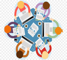 meeting table round table human behavior communication png
