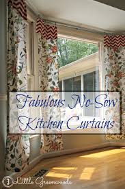 Diy No Sew Curtains Window Treatments And No Sew Curtains