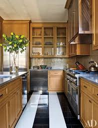 at a manhattan apartment renovated by architect peter pennoyer and designer victoria hagan the kitchen is