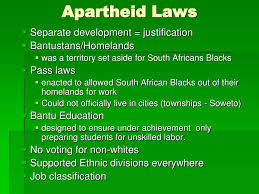Ppt Modern History Of South Africa Main Idea Statements Powerpoint