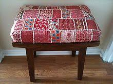 Quilting - Wikipedia & A decorative use of quilting: a stool upholstered with quilted and  embroidered fabric from India. Adamdwight.com