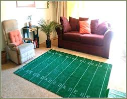 architecture football field area rug new interestprint green american 7 x 5 feet inside 3
