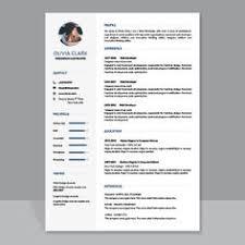 Eye Catching Resume Templates Microsoft Word 27 Best Resume And Cv Templates Images In 2019 Cv Template