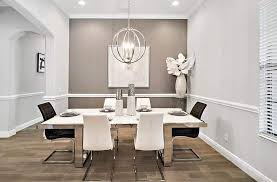 what size chandelier for a dining room