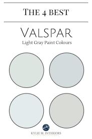 Valspar Paint Color The Best Light Gray Paint Colours Of