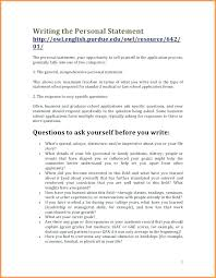 Personal Summary Resume Personal Summary Resumes Personal Statement Custom Personal Summary Resume