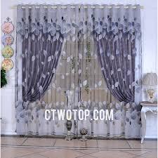 purple leaf elegant beautiful window curtains nice