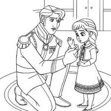 Small Picture Young Anna ColoringAnnaPrintable Coloring Pages Free Download