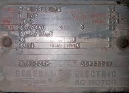 Ge Motor Starter Heater Chart Www Bedowntowndaytona Com