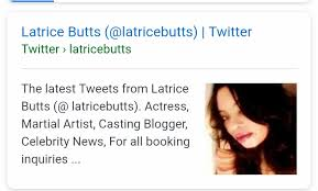 Image result for latricebutts