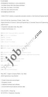 how to write a resume for job application electronics engineering resumes oyle kalakaari co