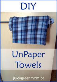 diy unpaper towels