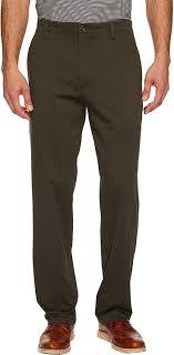 Dockers Mens Easy Khaki D3 Classic Fit Pants Olive Grove 33 34
