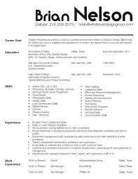 84 Resume Building Good Resumer Example