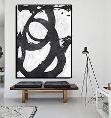 511 best black and white abstract paintings images on modern black and white painting