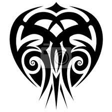 Obraz Tattoo Tribal Maori Vektorové Prvky Návrhu Tribal Tetování