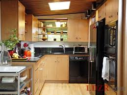 Tiny Kitchen Remodel Tiny House With A U Shape Kitchen Lavish Home Design