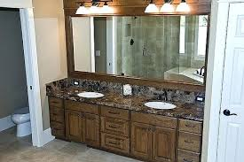 framing bathroom mirror ideas choose the best type for your a framed h18