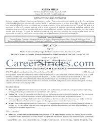 Sample Teacher Resume Resume Samples