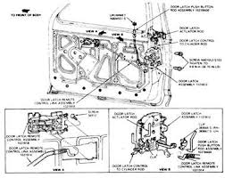 replacement door latch 1993 ford bronco fixya diagram of a 1993 ford this should help