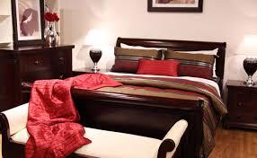 Queen Bedroom Suite Antoinette Mahogany Sleigh Queen Bed