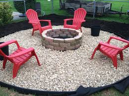 large size pea gravel fire pit elegant crushed stone around a firepit c should have saved