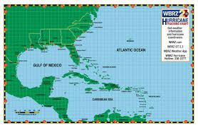 Hurricane Tracking Chart 2017 Wbrz News 2 Louisiana Baton Rouge La Hurricane Center