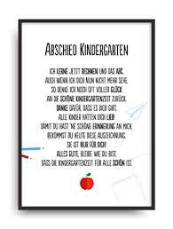 Geschenk Karte Abschied Kindergarten Kunstdruck Kita Verabschiedung