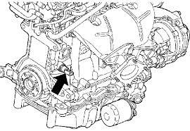 how to replace an oil pressure sensor switch on a 2005 2 4l position du capteur de pression d huile sur un pt cruiser 2 4l essence