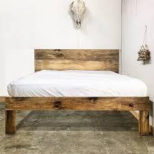 rustic platform bed. Rustic Platform Bed Ideas B On Beds A Natural Wood Fr D