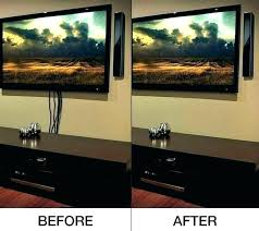 creative ways to hide cords wires in wall how ideas tv hiding cables behind brick chic and modern