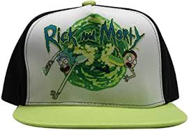 RICK AND MORTY Baseball Cap Logo <b>Dad</b> Hat <b>Curved Brim</b> ...